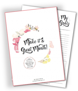 Free Printables - Have a Great Month!