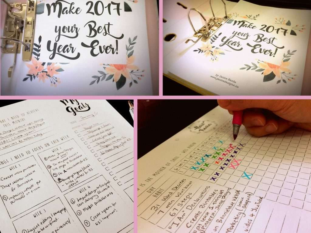 How You Can Make 2017 Your Best Year Yet. Get your copy today - https://janicedesigns.co/printables/make-2017-best-year-yet-collection/
