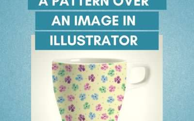 How to Superimpose a Pattern Over Another Image in Illustrator