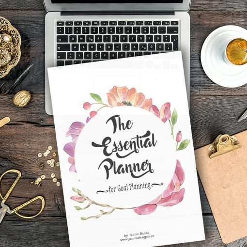 The Essential Planner: 5 Page Planner