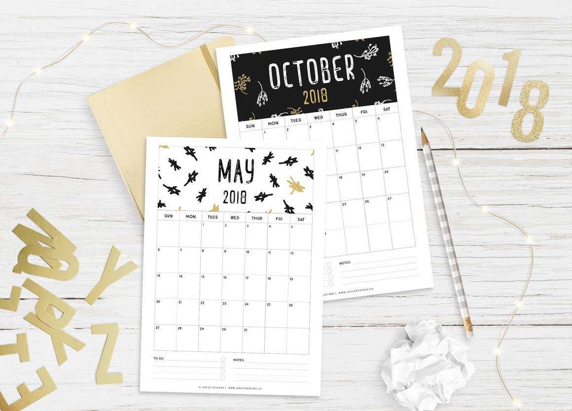 2019 Calendar Black Amp Gold A5 Binder Clipboard Wire