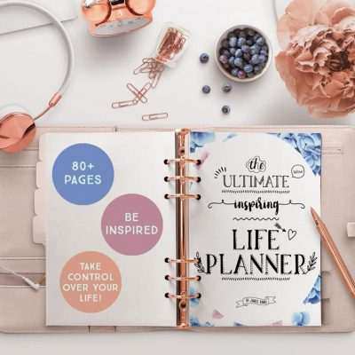 Life Planner: The Ultimate Inspiring Life Planner