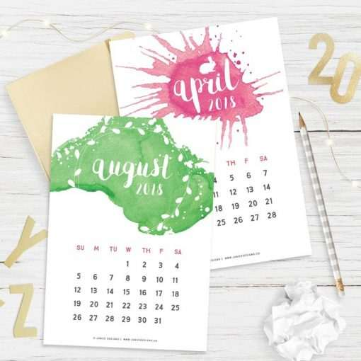Custom Printables - Calendar