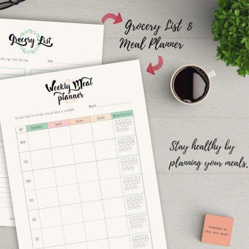 Weekly Meal Planner & Grocery List