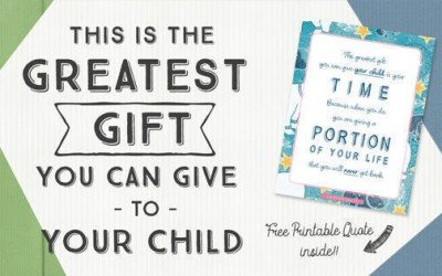 This is the Greatest Gift You Can Give to Your Child