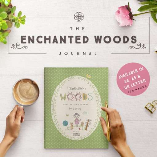Enchanted Woods Journal Printable Collection