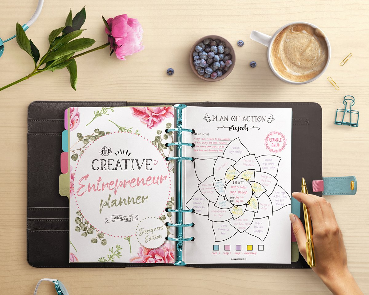 Creative Entrepreneur planner printables