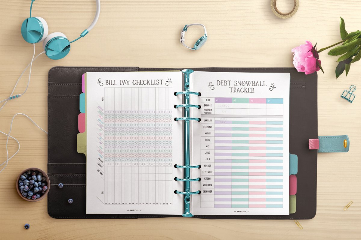 Financial Planning Pages
