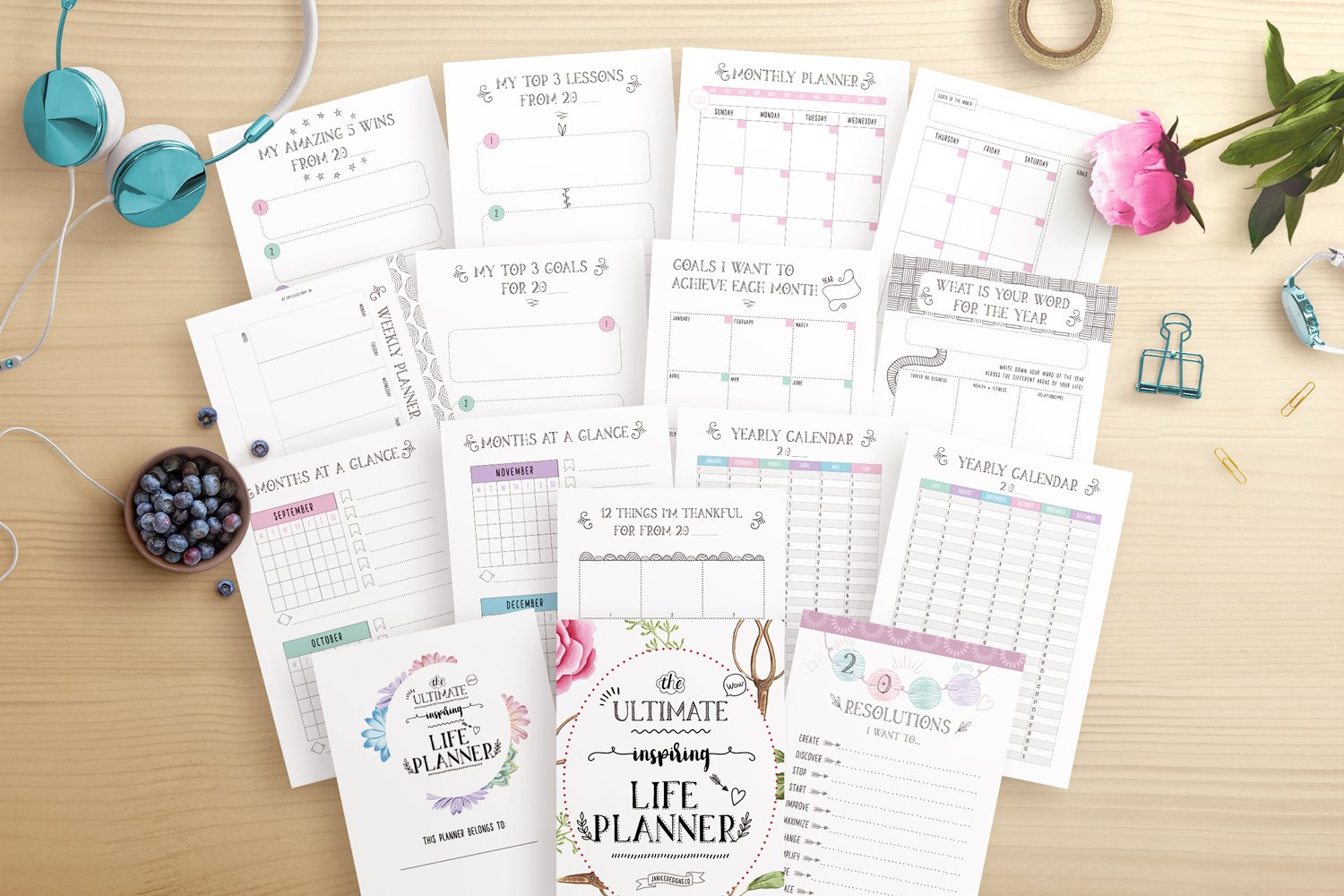 The Ultimate Inspiring Life Planner