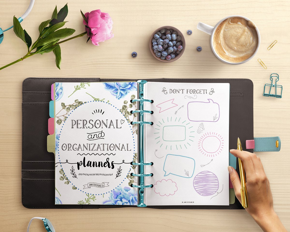 Personal and Organizational Printables
